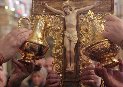 Чин Воздвижения Креста Господня. Фото