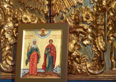 Икона святых Ацискла и Виктории