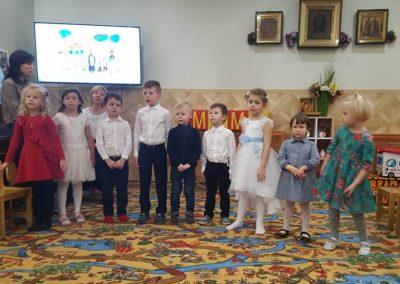 День матери в воскресной школе