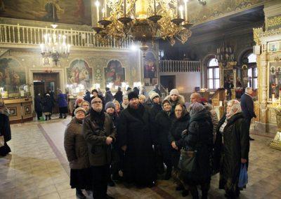 Экскурсия по храму Всех Святых