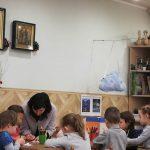 В дошкольной группе воскресной школы храма прошел открытый урок