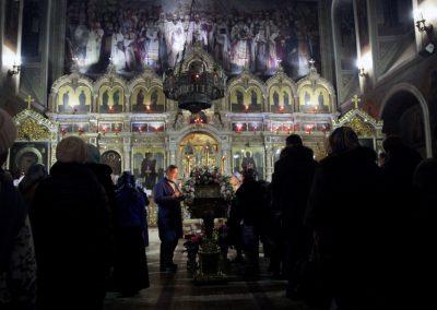 Праздник Введения во храм Пресвятой Богородицы. Всенощное бдение (фотогалерея)