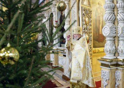 Рождество Христово. Ночная Литургия.