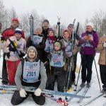 Зимний спортивный праздник семейных клубов трезвости 2019 года
