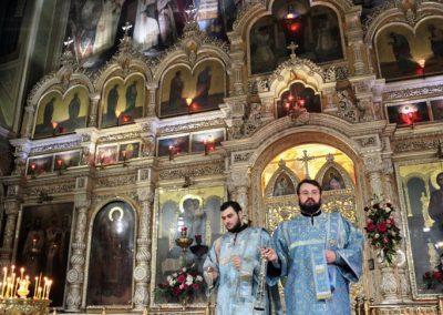 Праздник святых праведных Симеона Богоприимца и Анны пророчицы. Всенощное бдение. Галерея
