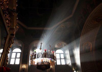 Архиерейское богослужение в день престольного праздника святых праведных Симеона и Анны