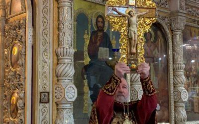 Крестопоклонная неделя. Вынос креста (видео)