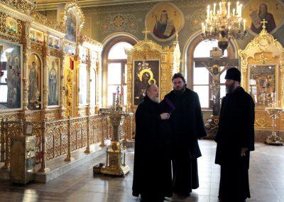Наш храм посетил управляющий Северным Викариатством Преосвященный Фома, епископ Бронницкий