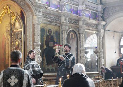 Молебен св. вмч. Феодору и благословение колива