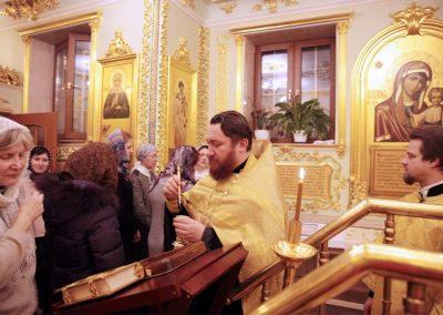В храме на Соколе давали обеты трезвости