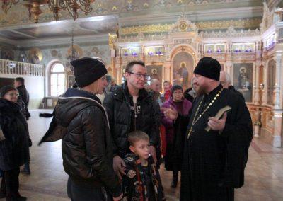 В нашем храме прошла экскурсия-беседа о семье