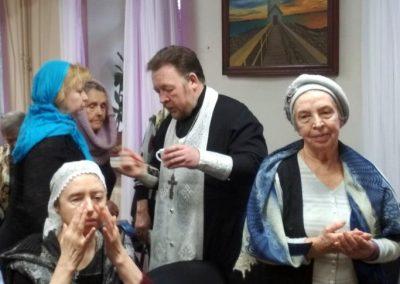 Соборование в обществе слепых
