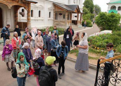 Учащиеся воскресной школы посетили  Саввино-Сторожевский монастырь