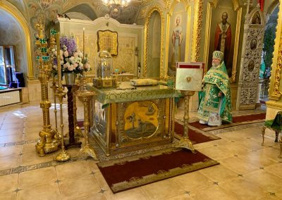 Праздник Пятидесятницы. Литургия и вечерня. Фотогалерея