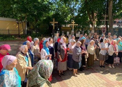Отдание Пасхи и праздник Вознесения Господня