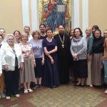 В Викариатской школе на Соколе состоялись выпускные экзамены