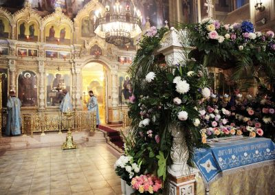 Чин Погребения Божией Матери.