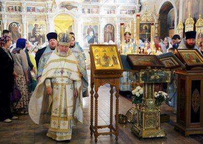 Освящение иконы священномученика Иоанна Восторгова