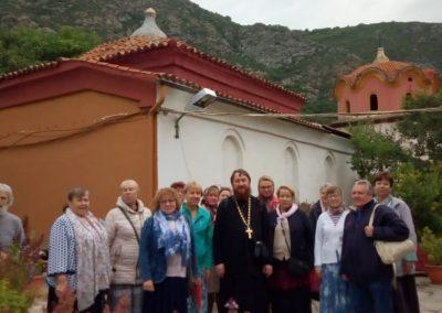 Состоялась паломническая поездка в Грецию и Бари