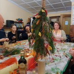 Состоялся мастер-класс по изготовлению Рождественских подарков
