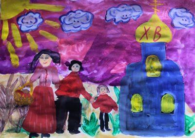 Пасхальный фестиваль. Дошкольная группа