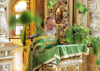 Праздник Троицы. Литургия (фотогалерея)