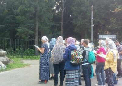 Участники приходского семейного трезвенного движения приглашают  в пеший поход к преподобному Сергию