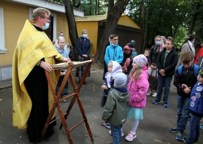 Состоялся молебен для учащихся воскресной школы