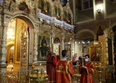 Всенощное бдение в день памяти свв. мцц. Веры, Надежды, Любови и Софии