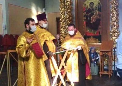 Молебен в Донском монастыре