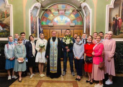 Воскресная встреча Лествицы  в парке Царицыно.