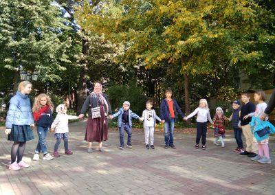 В воскресной школе состоялся фольклорный праздник