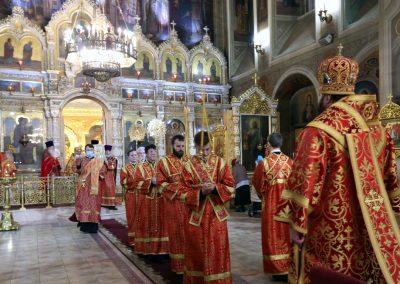 Архиерейское богослужение в нашем храме (фотоотчет)