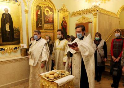 Престольный праздник Богоявленского храма