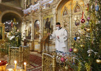 Праздник Рождества Христова. Всенощное бдение. Фотогалерея
