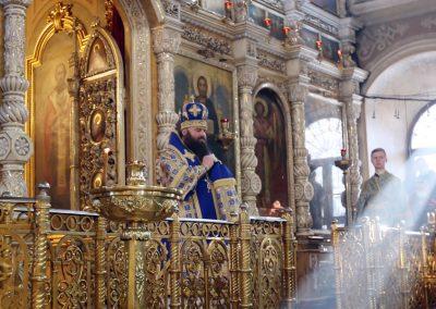 Престольный праздник святых праведных Симеона и Анны