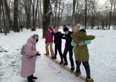 Команды воскресной школы нашего храма приняли участие в городской молодежной военно-исторической игре «Патриоты России».