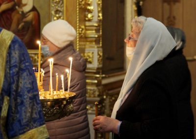 Благовещение Пресвятой Богородицы и Приснодевы Марии. Фото