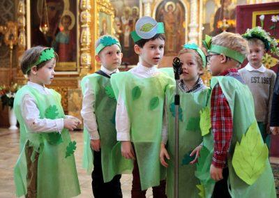 Детский пасхальный праздник
