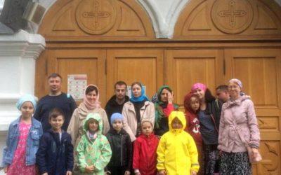 Паломническая поездка в Новоспасский монастырь.